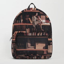 Read all the books Backpack
