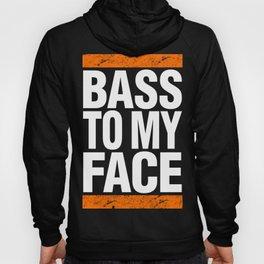 Bass To My Face (orange/white) Hoody