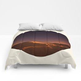 Desert Sunset & Stars In The Sky Comforters