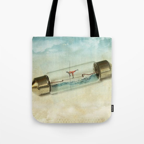 Fuse wire walker Tote Bag