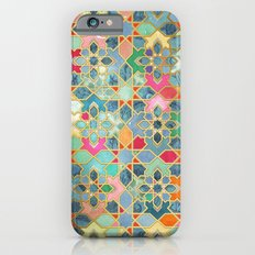 Gilt & Glory - Colorful Moroccan Mosaic Slim Case iPhone 6