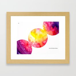 Page 21 Framed Art Print