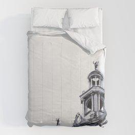 Barcelona Architecture Watercolour Comforters