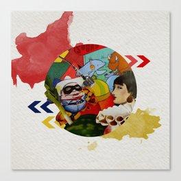 A Splash of Sound Canvas Print