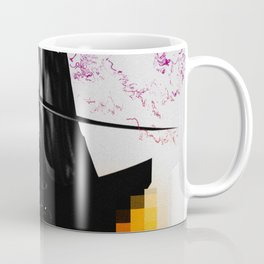 Abstract Peaks Coffee Mug