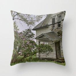 Lilacs Remember Throw Pillow