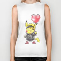 projectrocket Biker Tanks featuring iHeart Birdychu by Randy C