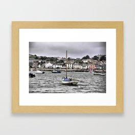 little boat Framed Art Print
