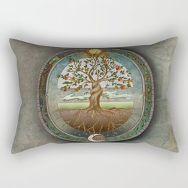 Ouroboros Rectangular Pillow