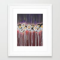 moulin rouge Framed Art Prints featuring Rouge by Angelina Yvette