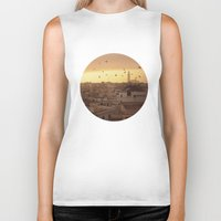 casablanca Biker Tanks featuring Casablanca by GF Fine Art Photography