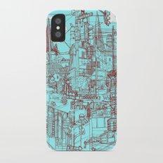 San Francisco! (Turquoise) Slim Case iPhone X