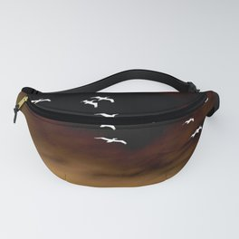Flying Away Abstract Fanny Pack