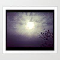 Light Sky Art Print