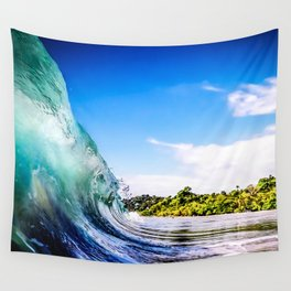 Tropical Wave Wall Tapestry