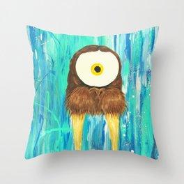 Spirit Animal Sight: Walrus Throw Pillow
