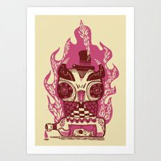 Good to the Last Drop - Owl Art Print