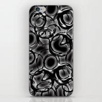 metallic iPhone & iPod Skins featuring Metallic by LoRo  Art & Pictures