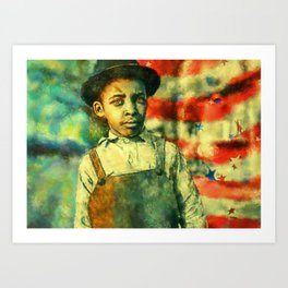 Face of Greatness Art Print