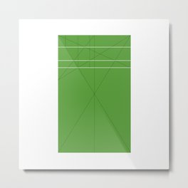 #143 The Marber Grid – Geometry Daily Metal Print