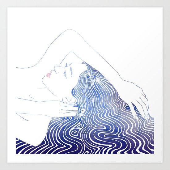 Water Nymph LXXIX Art Print
