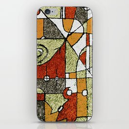 Multicolored Abstract Tribal Print iPhone Skin