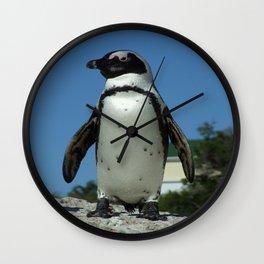 A Little Bit More Penguin Wall Clock