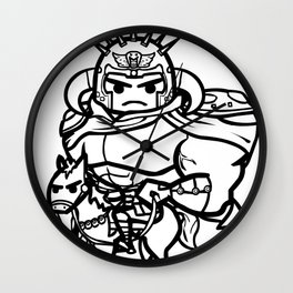 King of Fist of the North Star Wall Clock