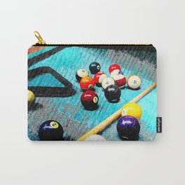 Billiard art and pool artwork 5 Carry-All Pouch