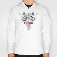 custom Hoodies featuring Custom Bike by drQuill