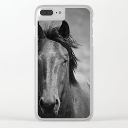 Staredown Clear iPhone Case