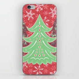 Xmastrees_05a iPhone Skin