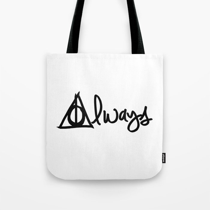 Always Ly Hallows Harry Potter Tote Bag