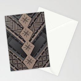 UrbanNesian V Tatau Design Stationery Cards