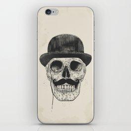 Gentlemen never die iPhone Skin