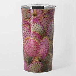 Pink Cactus Travel Mug