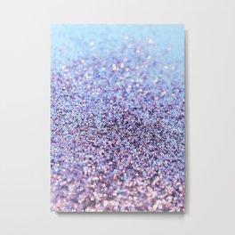 Mermaid Ocean Glitter Glam #1 (Faux Glitter) #shiny #decor #art #society6 Metal Print