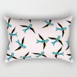Swallow Bird Rectangular Pillow
