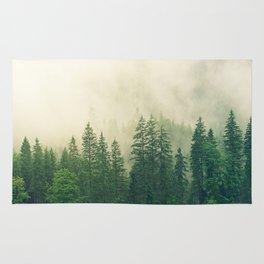 Foggy Forest Rug