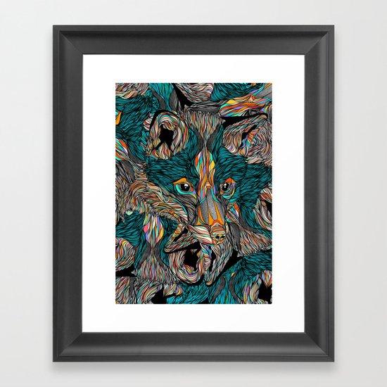 Fox (Feat. Bryan Gallardo) Framed Art Print
