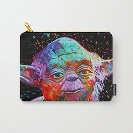 Master Yoda Abstract Sci-fi Star.Wars Artwork Carry-All Pouch
