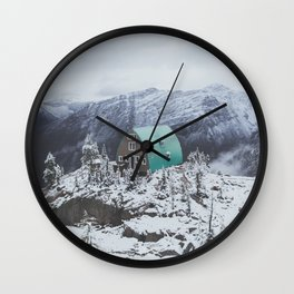 Conrad Kain Hut Wall Clock
