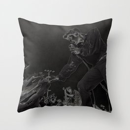 sing your <3 out Throw Pillow
