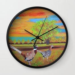 Country side (North Dakota) Wall Clock