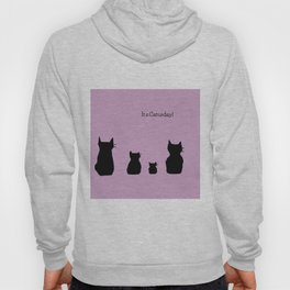 It's a cute Caturday ! Hoody