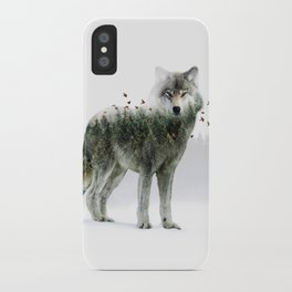 Wild I Shall Stay | Wolf iPhone Case