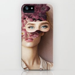 Lady Gardenia iPhone Case