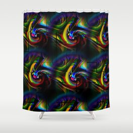 Abstract Perfection 20 Shower Curtain