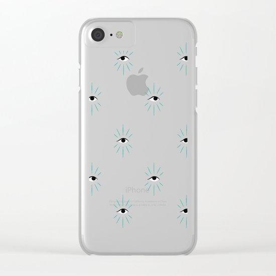 E V I L   E Y E Clear iPhone Case