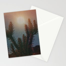 High Desert Moon II Stationery Cards